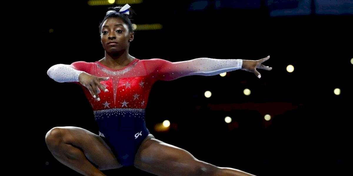 Simone Biles impone nuevo récord de medallas en Mundial de gimnasia