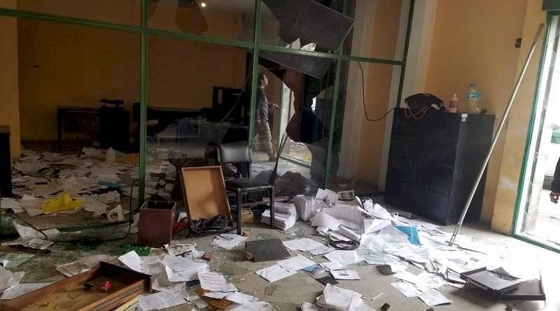 Unidad Metropolitana Salud Centro fue atacada y desmantelada en Quito Municipio de Quito