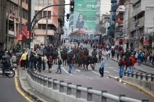Paro nacional: 676 detenidos por protestas en Ecuador