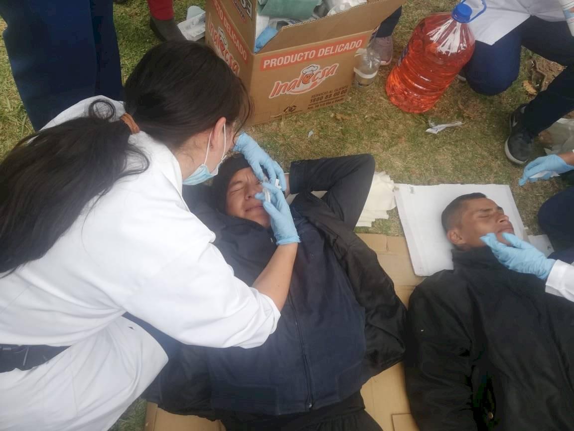 Estudiantes carreras médicas
