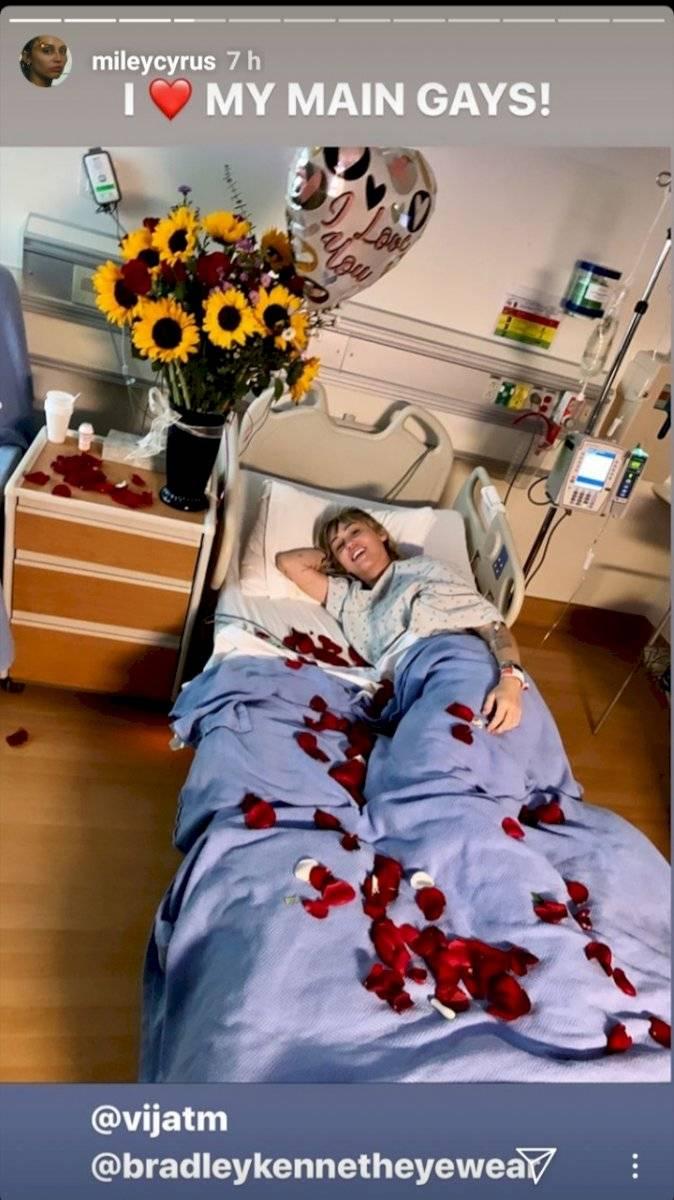 Miley Cyrus hospitalizada