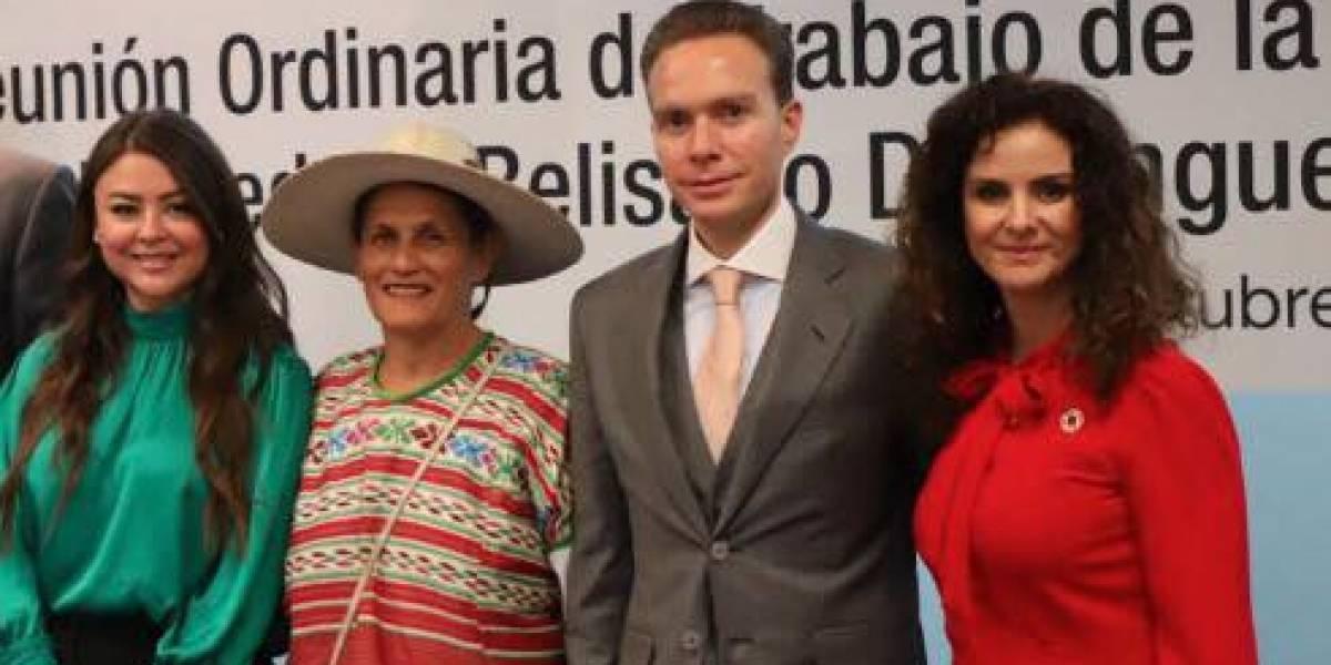 """Rosario Ibarra merece medalla """"Belisario Domínguez"""": Manuel Velasco"""