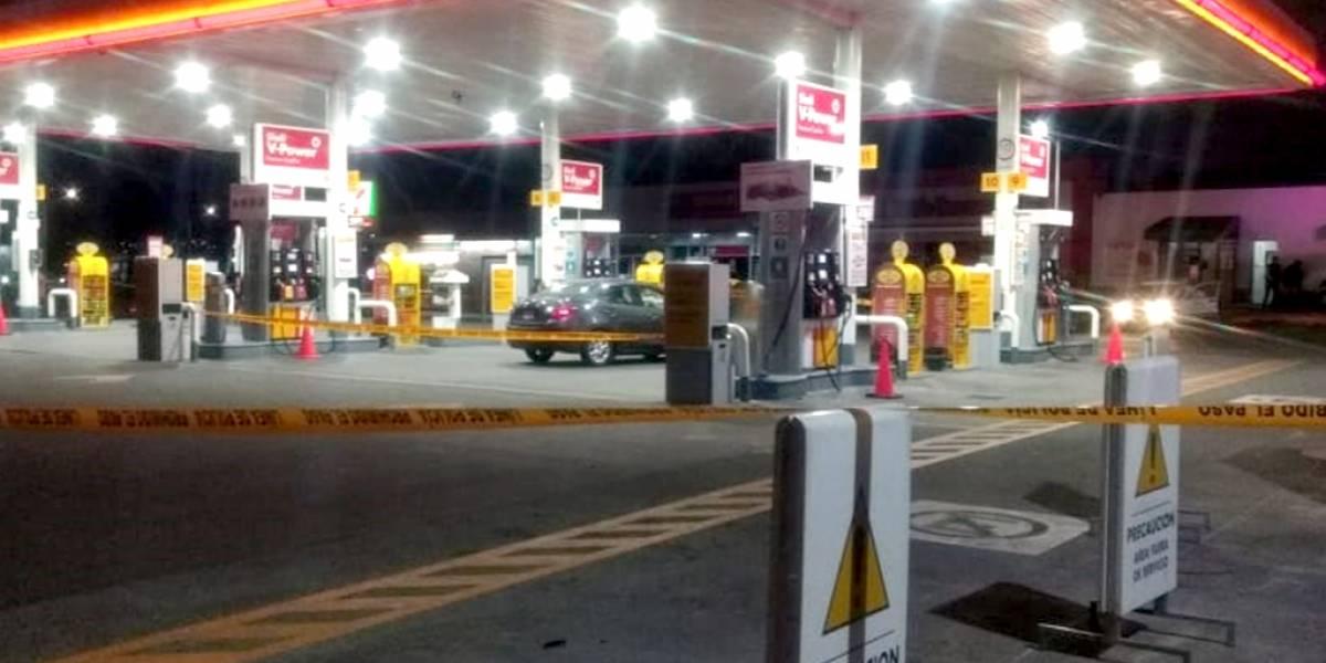 Chofer de plataforma digital de transporte fue asesinado en gasolinera