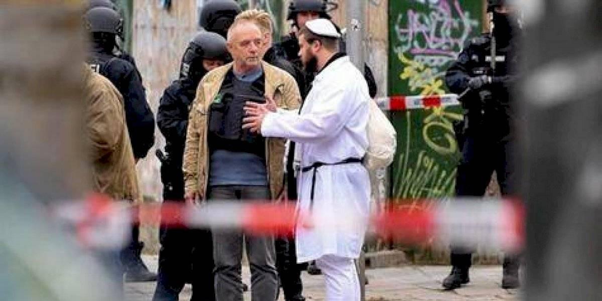 Tiroteo en sinagoga de Alemania deja dos muertos
