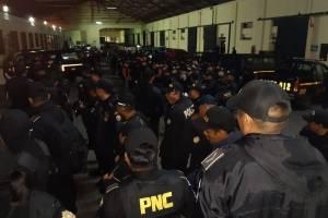 allanamientos contra extorsionistas del Barrio 18
