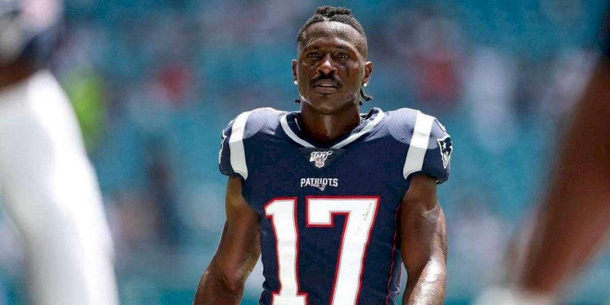 Antonio Brown desea volver a jugar con los Patriots