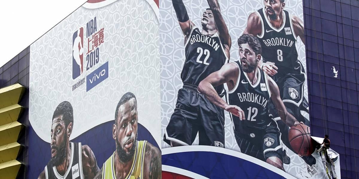 NBA pospone actividades de prensa para juego entre Nets y Lakers por controversia con China