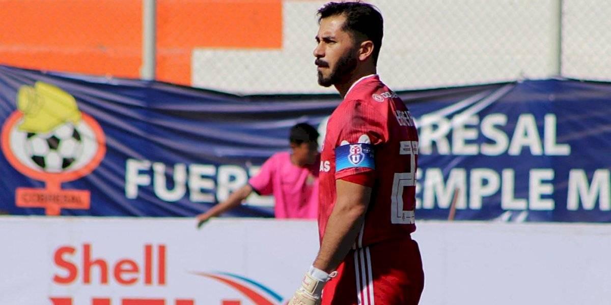 Johnny Herrera será titular ante Cobresal por la Copa Chile en el que podría ser su último partido por la U