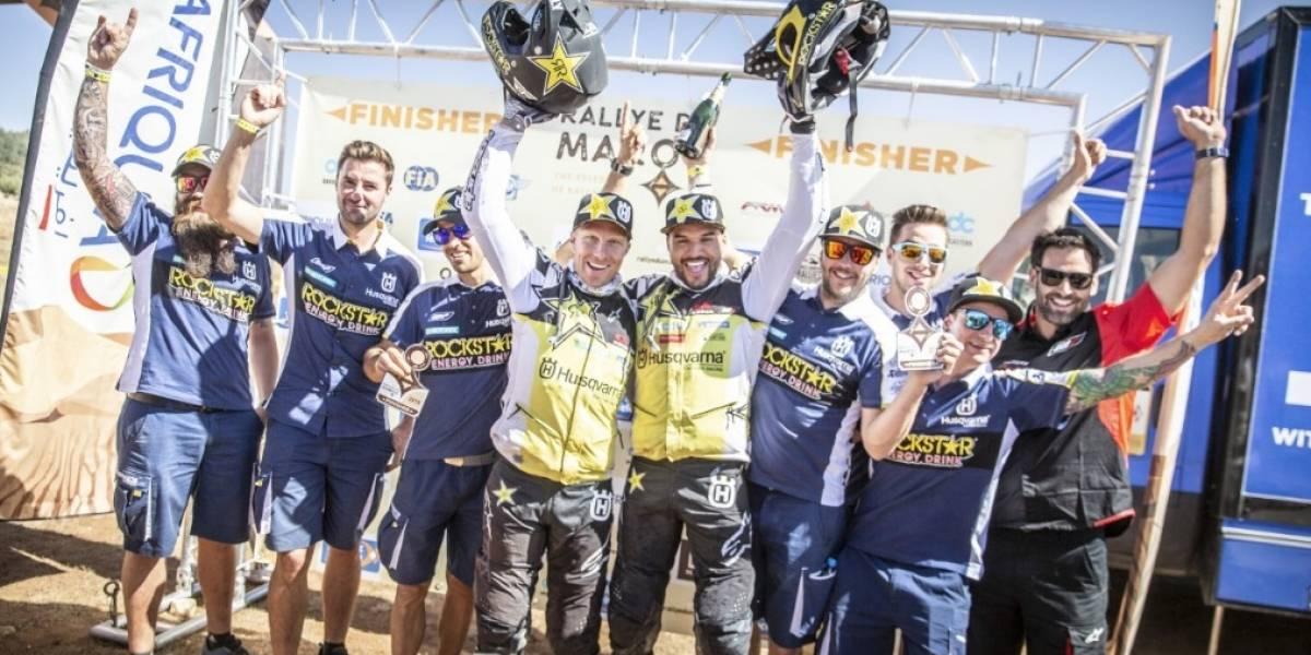 Pablo Quintanilla consiguió un meritorio subcampeonato en el Rally de Marruecos