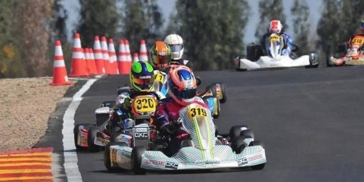 El campeón sudamericano de karting que asoma como la gran carta chilena para el Mundial de Italia