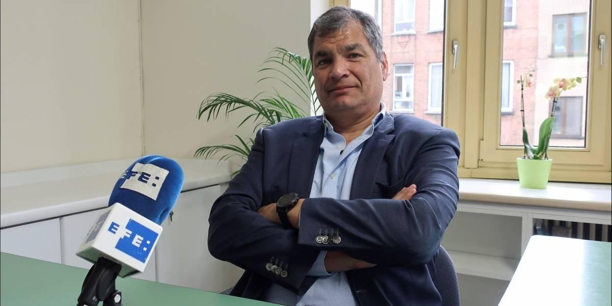 La impensada propuesta de Rafael Correa con la que espera terminar con la crisis en Ecuador