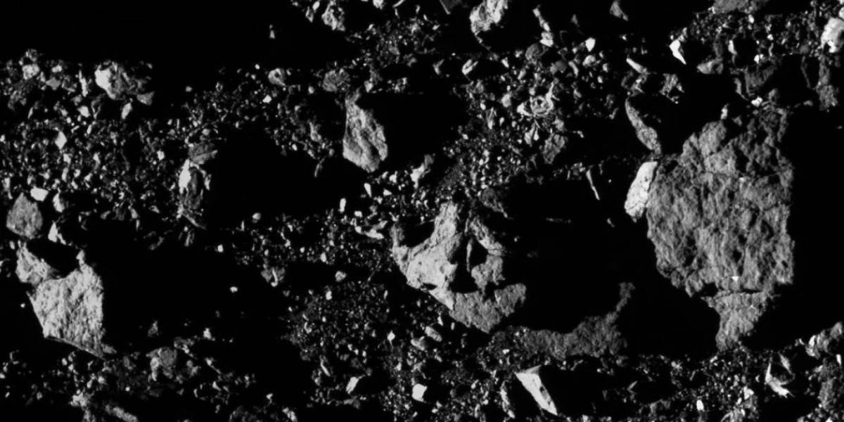 O impressionante registro do gigantesco asteroide Bennu divulgado pela Sonda OSIRIS-REx da NASA