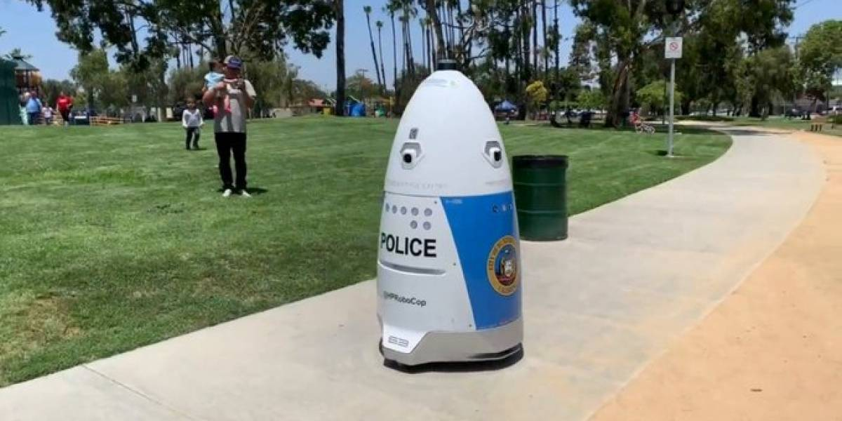 HP Robocop: El robot que patrulla las calles de Los Ángeles fue muy grosero con una mujer que le pidió ayuda