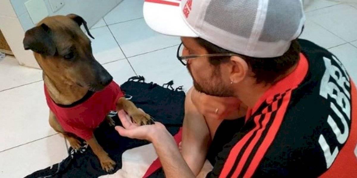 Rifa do Doze: como um torcedor do Flamengo desistiu de ir à semifinal da Libertadores no Maracanã para poder salvar o cachorro