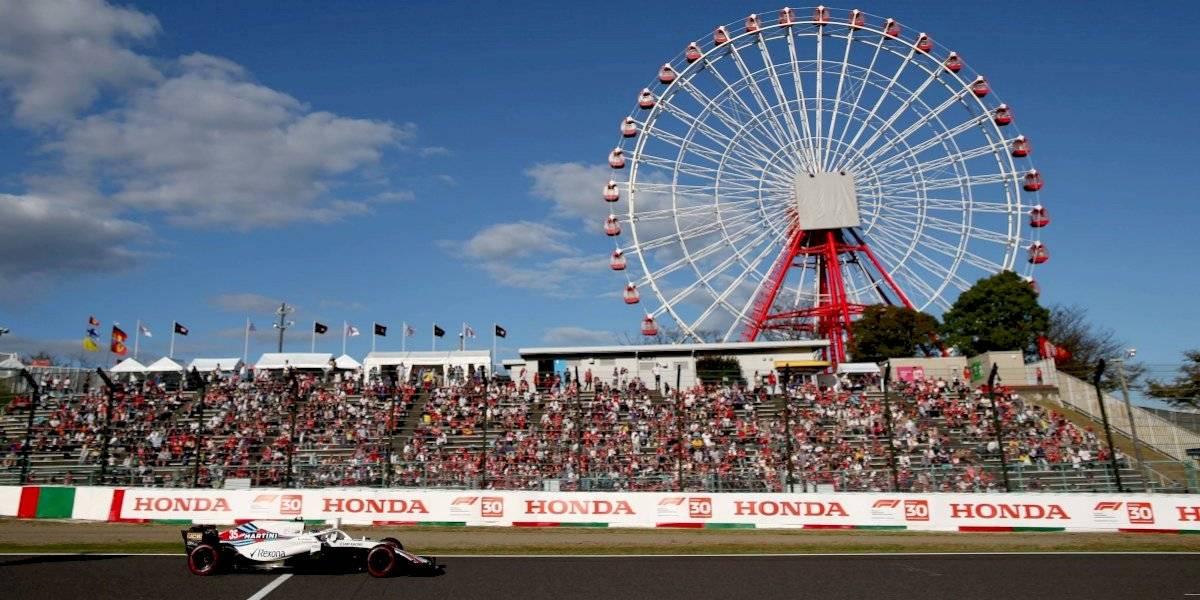 Gran Premio de Japón podría ser cancelado por tifón