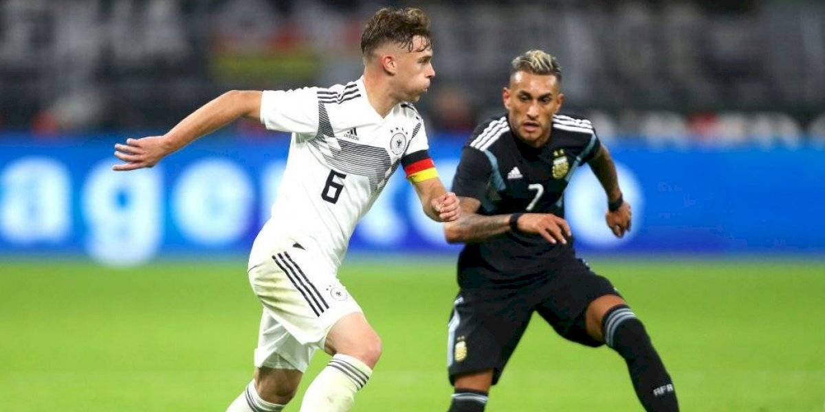 Así vivimos el empate entre Alemania y Argentina en duelo amistoso