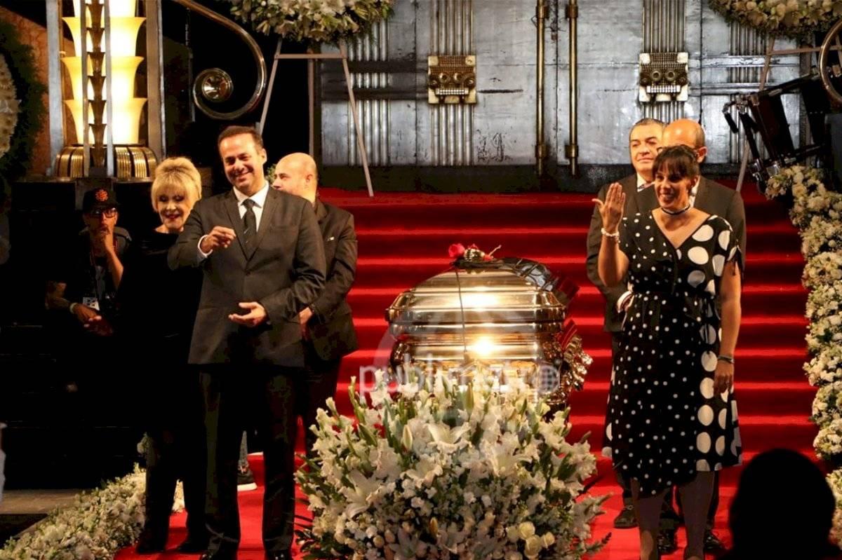 Homenaje a José José en el Palacio de Bellas Artes. Ángel Cruz