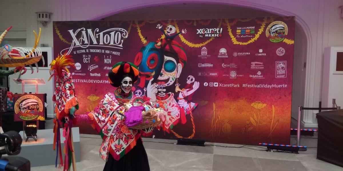 Tradiciones del Día de Muertos de San Luis Potosí llegan a parque Xcaret