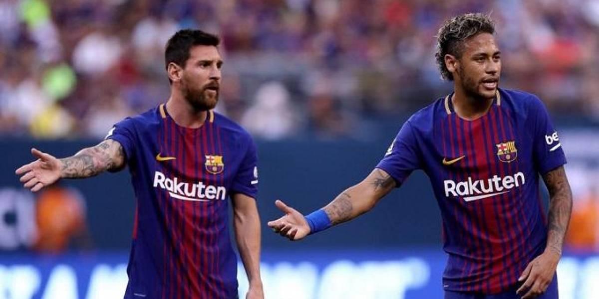 """VIDEO. Lionel Messi: """"Muchos socios no querían que Neymar volviera"""""""