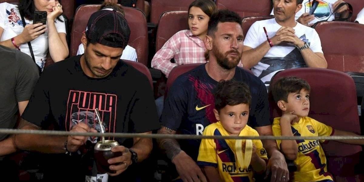 Messi, preocupado por la creciente fama de su hijo Mateo