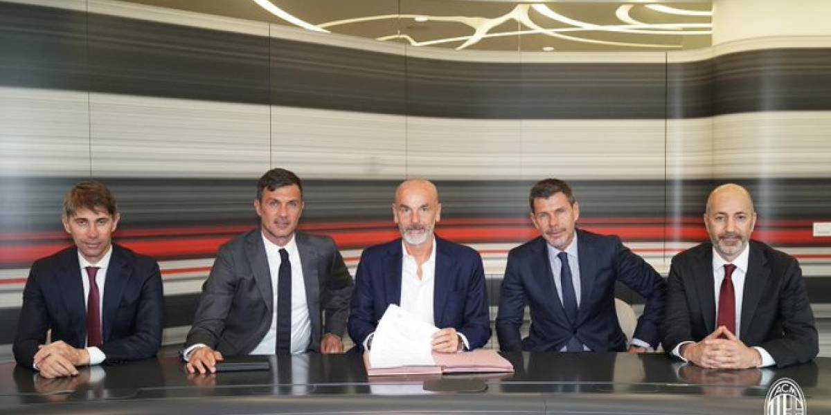 """¿Qué te hicieron AC Milan? El """"ex"""" gigante italiano echó un nuevo DT y suma nueve en apenas cinco años"""