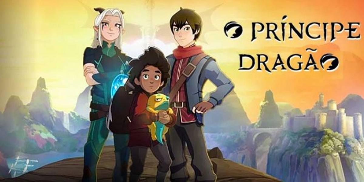 'O Príncipe Dragão' tem terceira temporada confirmada