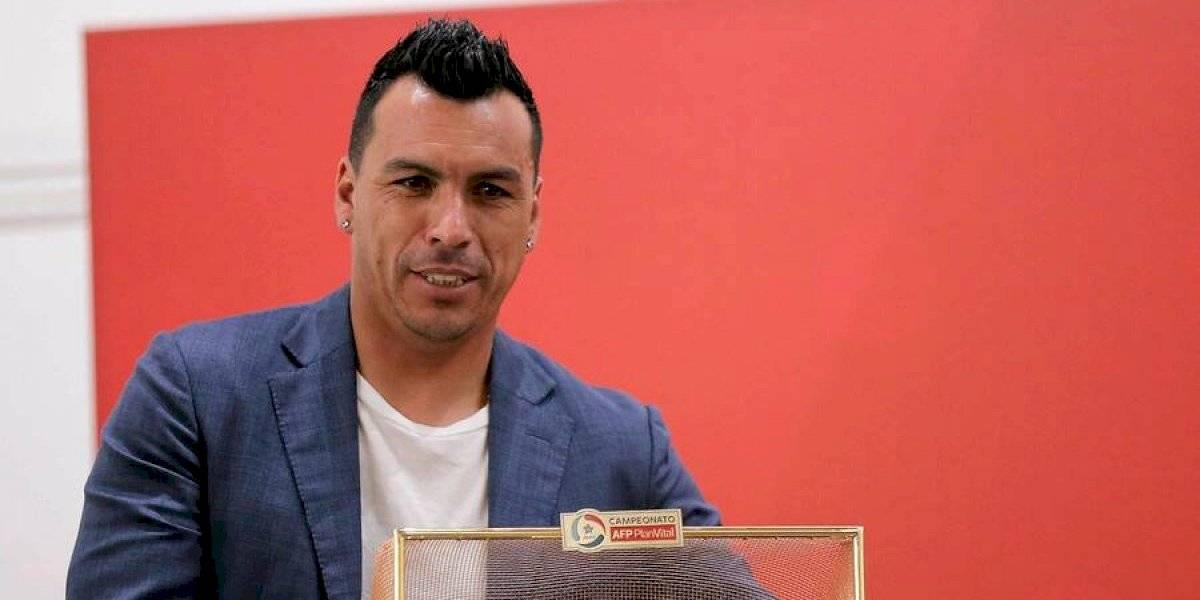 Colo Colo solicitó a la ANFP que el premio al goleador del fútbol chileno desde 2020 lleve el nombre de Esteban Paredes