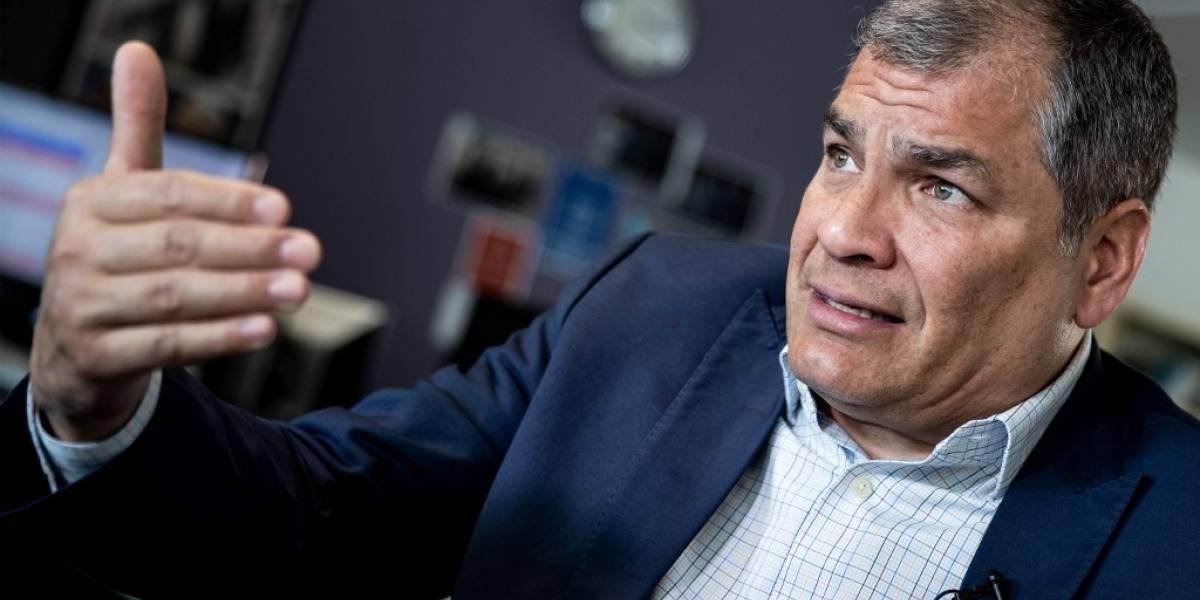 Correa no descarta presentarse a elecciones en Ecuador