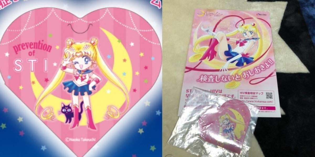 Gobierno japonés distribuirá gratuitamente condones de Sailor Moon