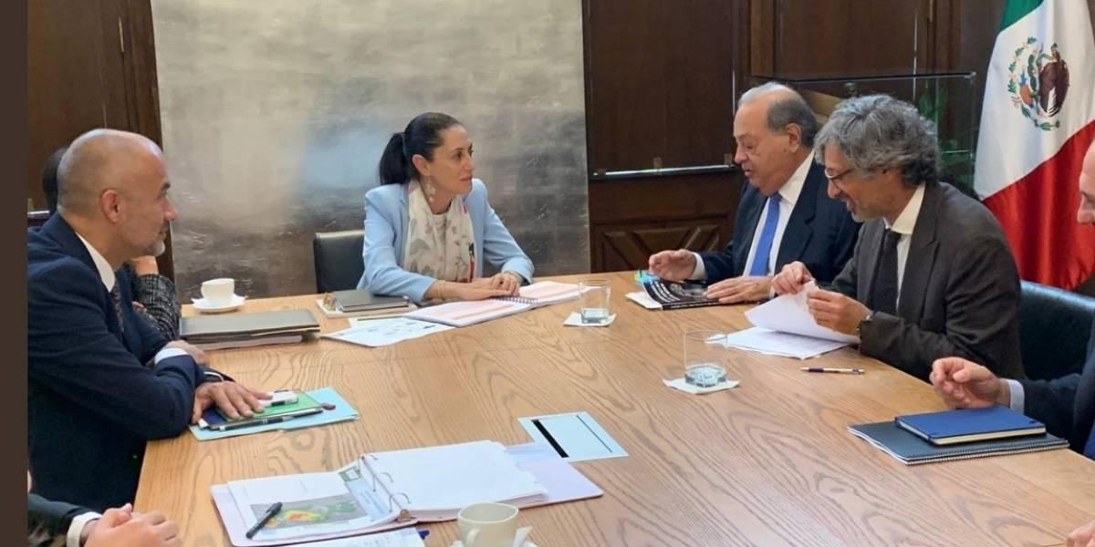 Busca Slim invertir en proyectos de agua en CDMX