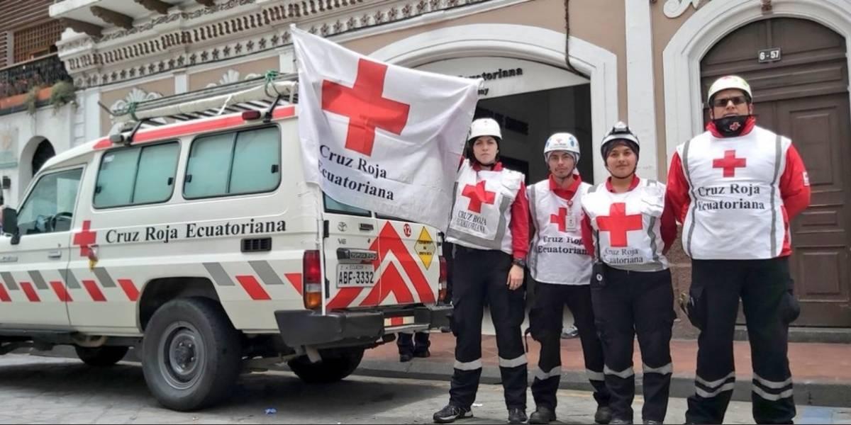 Cruz Roja suspende servicio de ambulancias y personal humanitario ante falta de garantías