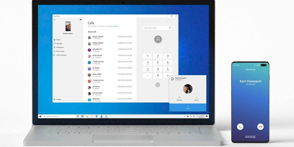 Ahora podrás contestar llamadas de tu teléfono Android en un tu PC con Windows