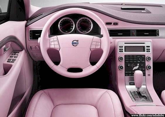 Autos rosas rosa