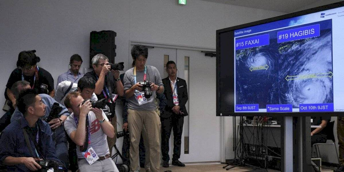 Peligroso tifón obliga a cancelar dos partidos del Mundial de rugby en Japón