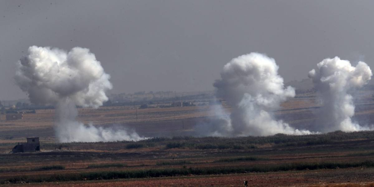 La espectacularización de una masacre: transmiten en vivo bombardeo de Turquía contra los kurdos en Siria