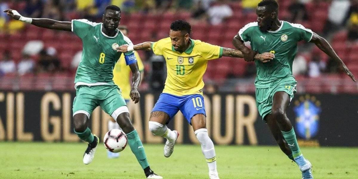 Brasil no pudo con Senegal en el centenario de Neymar y sigue dejando dudas tras el título de Copa América