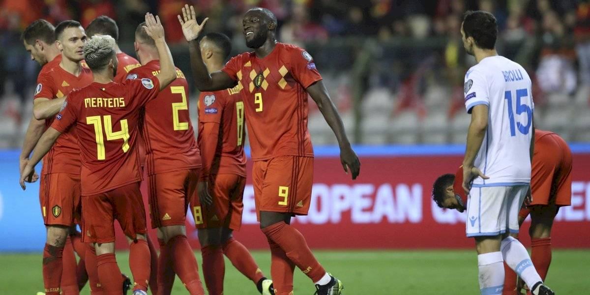 Bélgica demolió a San Marino y Holanda dio vuelta un partido imposible en el camino a la Euro 2020