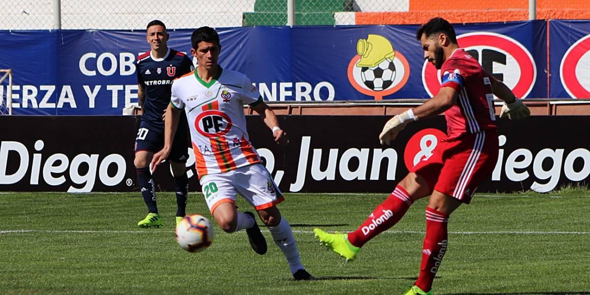 La U quiere un respiro de su mal momento y va por una remontada ante Cobresal en Copa Chile