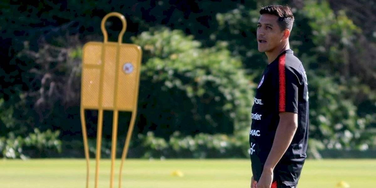 """Alexis Sánchez de """"9"""" y Pinares en el ataque: La nueva formación que probó Rueda en la Roja para jugar con Colombia"""