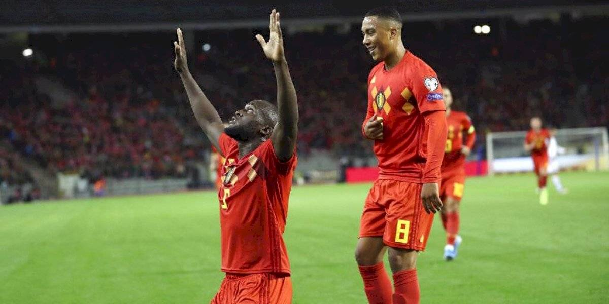Bélgica se convierte en la primer selección clasificada a la Euro 2020