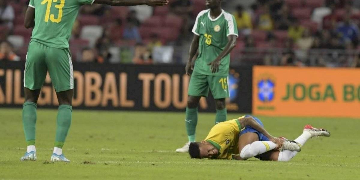 Sadio Mané opaca el centenar de partidos de Neymar con Brasil