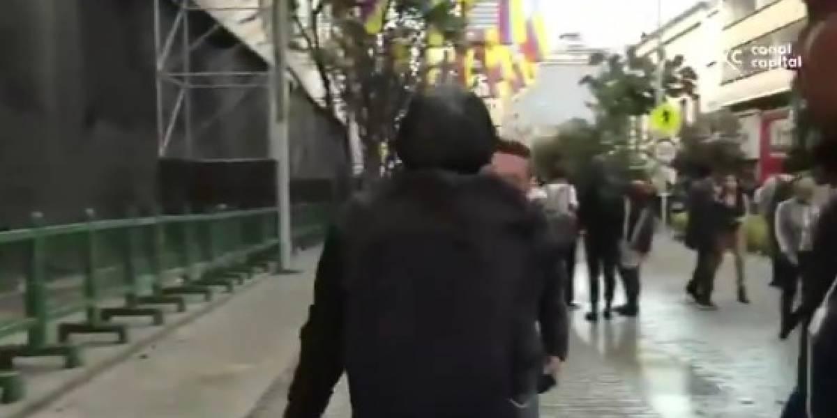 Marchas estudiantiles degeneraron en disturbios en la Plaza de Bolívar