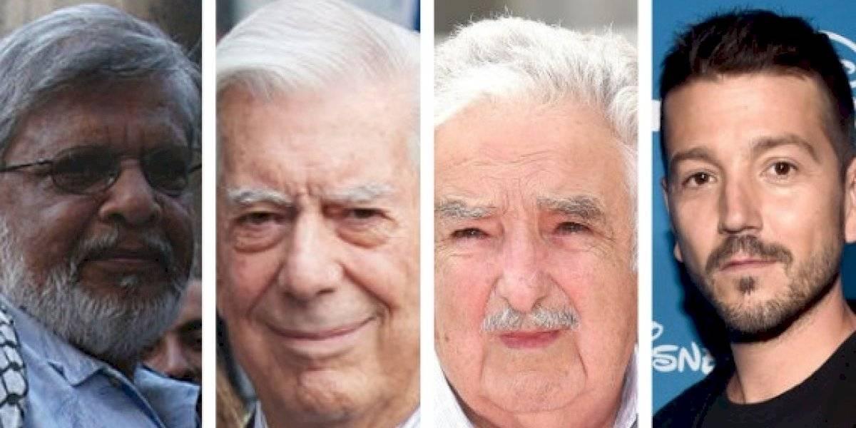 Vargas Llosa, José Mujica, Arun Gandhi y Diego Luna en FIL GDL