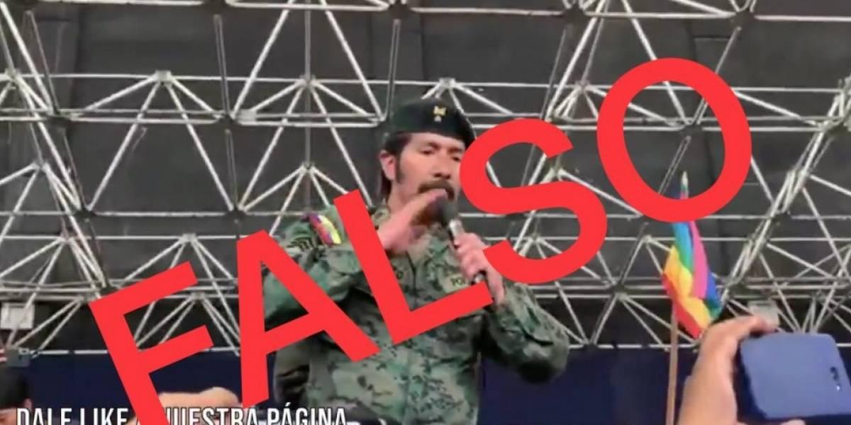 Ministerio de Defensa rechaza la usurpación de uniforme de FF.AA.