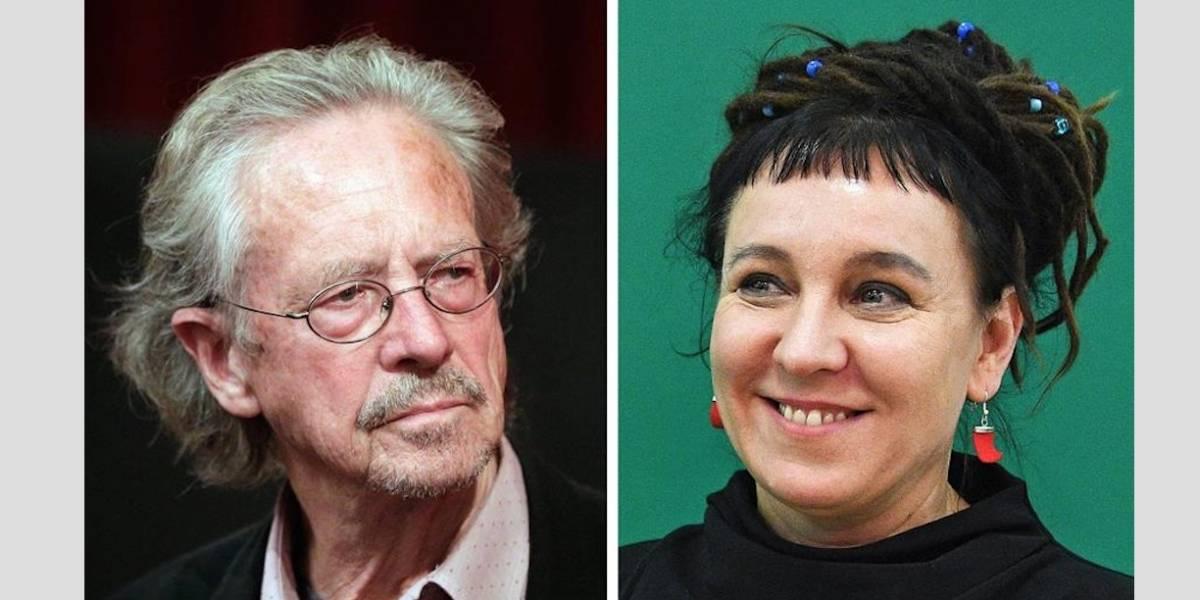 La polaca Olga Tokarczuk y al austriaco Peter Handke se llevan el Nobel de Literatura 2018 y 2019