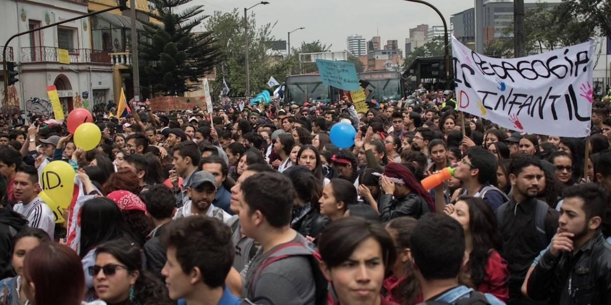 Policía dice que no permitirá que extranjeros cometan actos vandálicos en marchas