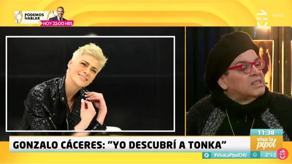 Gonzalo Cáceres y Tonka Tomicic
