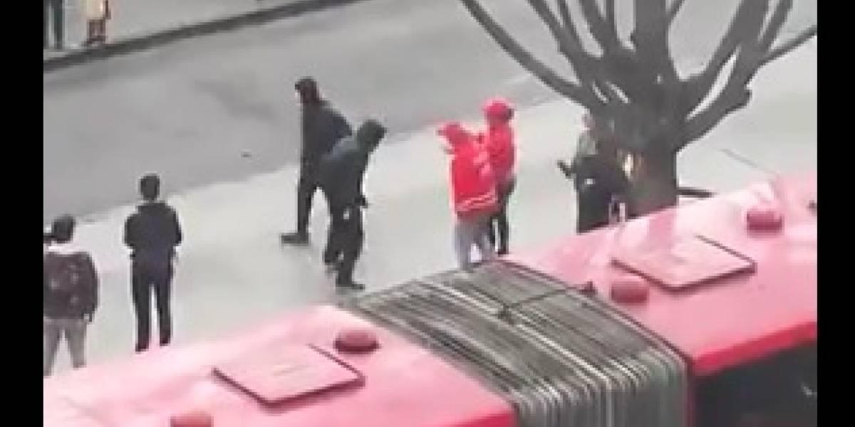Presuntos infiltrados intentaron agredir a periodista de Noticias RCN