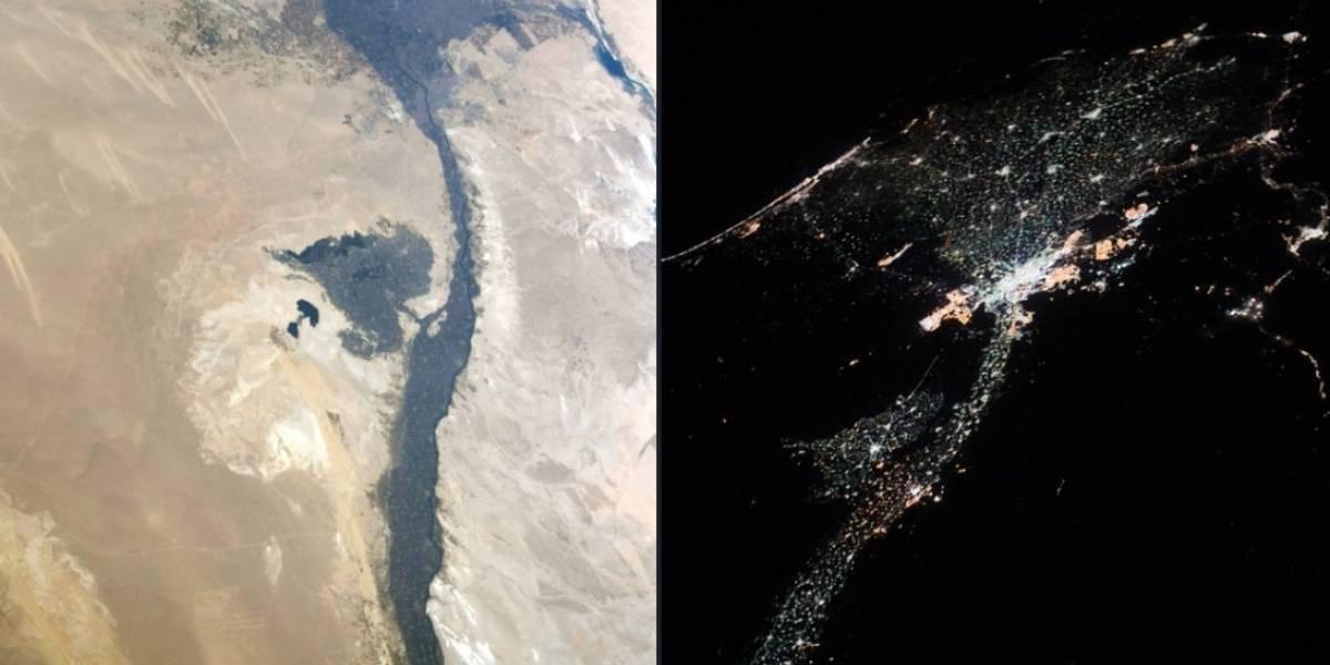 Astronauta americana registra novas imagens da Terra desde o espaço