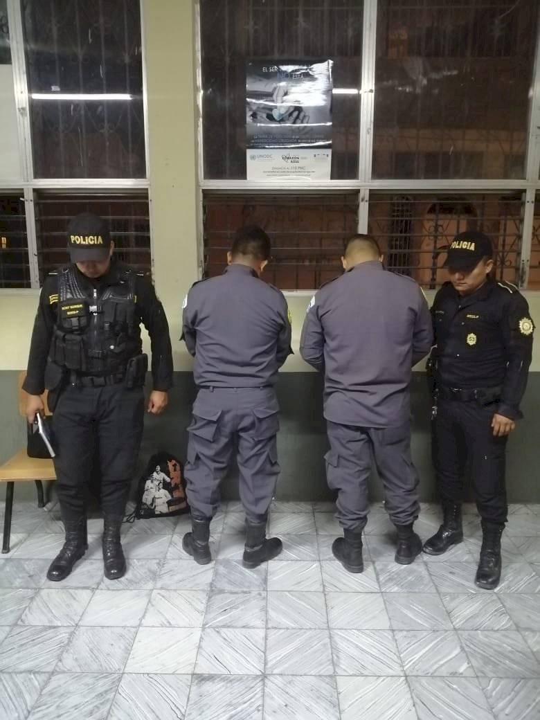 capturan a guardias del Sistema Penitenciario por fuga de reos en El Progreso